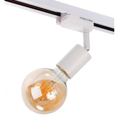 Трековый светильник под лампу E27 Denkirs Белый