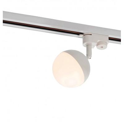 Трековый светодиодный LED светильник Denkirs 7W Белый корпус