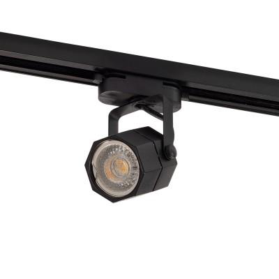 Трековый однофазный светильник Denkirs GU10 Черный