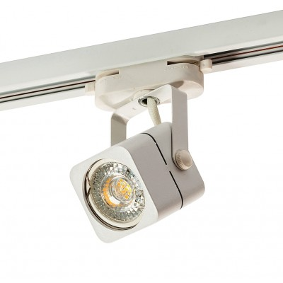 Трековый однофазный светильник Denkirs GU10 Белый