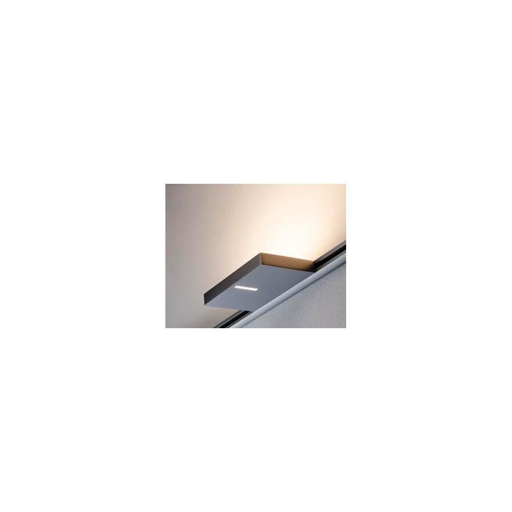 Трековый светильник UPLIGHT SQUARED LED SPOT хром матовый