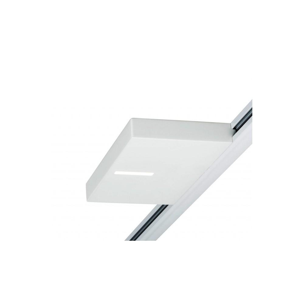 Трековый светильник UPLIGHT SQUARED LED SPOT белый