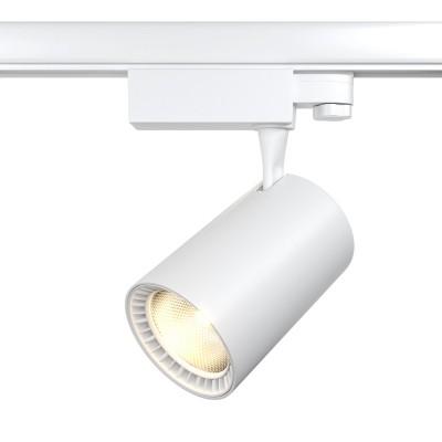 Трековый трехфазный светодиодный светильник Vuoro 30w 4000k Белый корпус