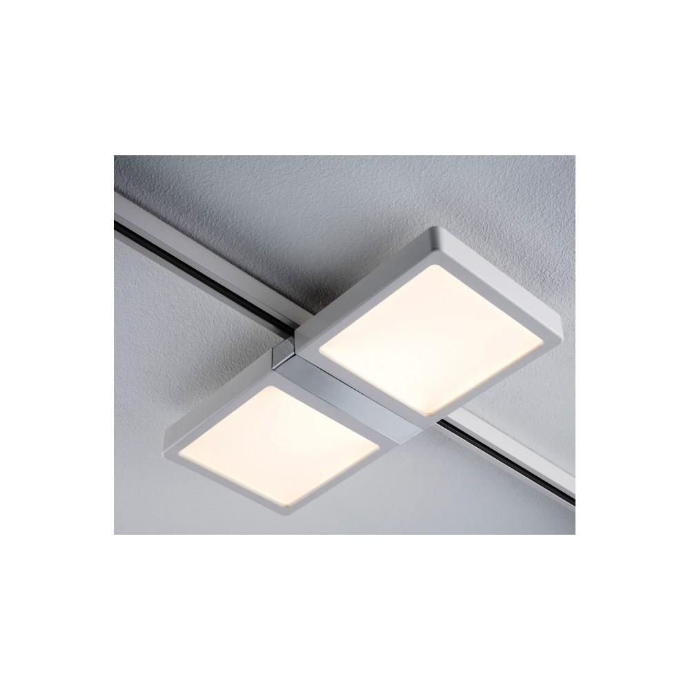 Трековый светильник PANEL DOUBLE LED белый