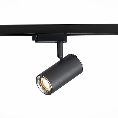 Трековый однофазный светильник ST Luce CROMI под лампу GU10 Черный/хром