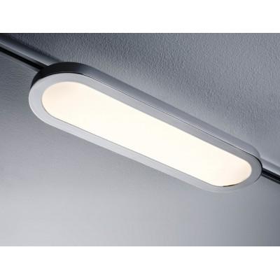 Трековый светильник PANEL LONGUS LED хром матовый