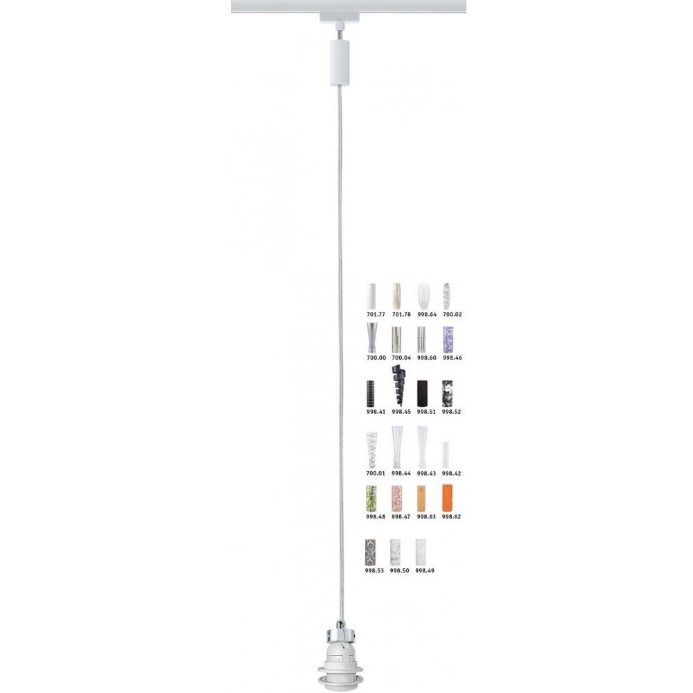 Трековый светильник-подвес BASIC-PENDULUM на трек Paulmann