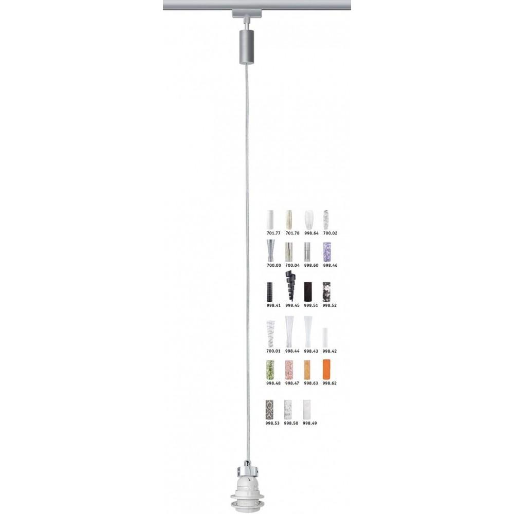 Трековый светильник-подвес PENDEL на трек Paulmann