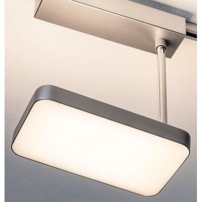 Трековый светильник Pillow LED хром матовый