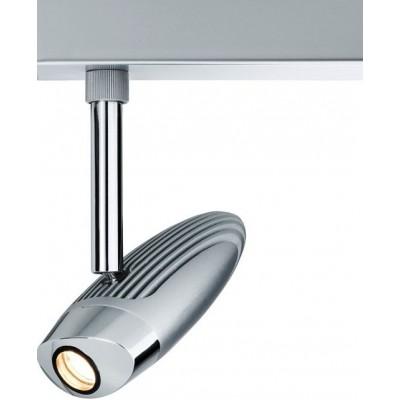 Трековый светильник Flood LED хром матовый