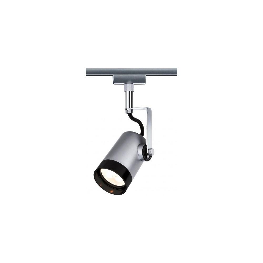 Трековый светильник SCALE LED хром матовый/черный