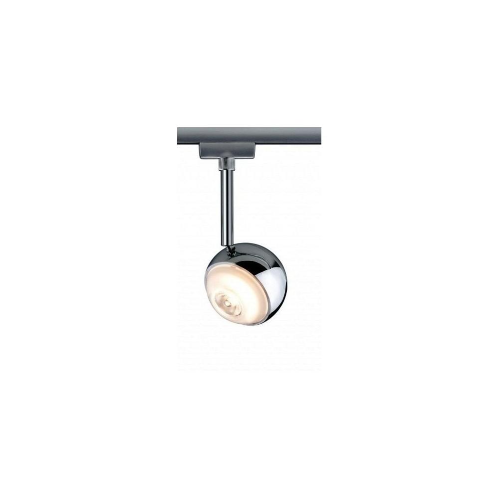 Трековый светильник CAPSULE LED хром матовый/хром