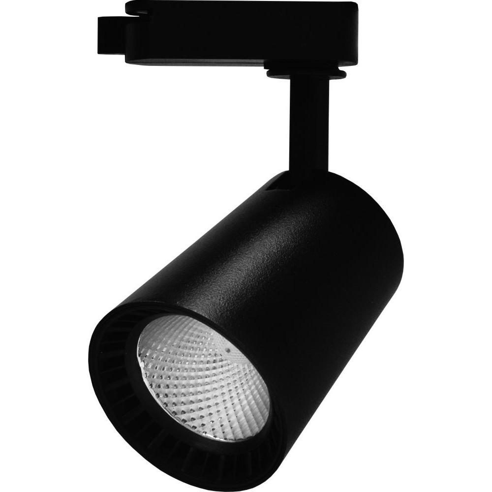Трековый светодиодный светильник 8Вт 4000К черный