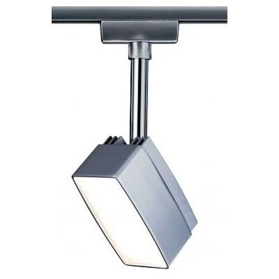 Трековый светильник PEDAL LED хром матовый