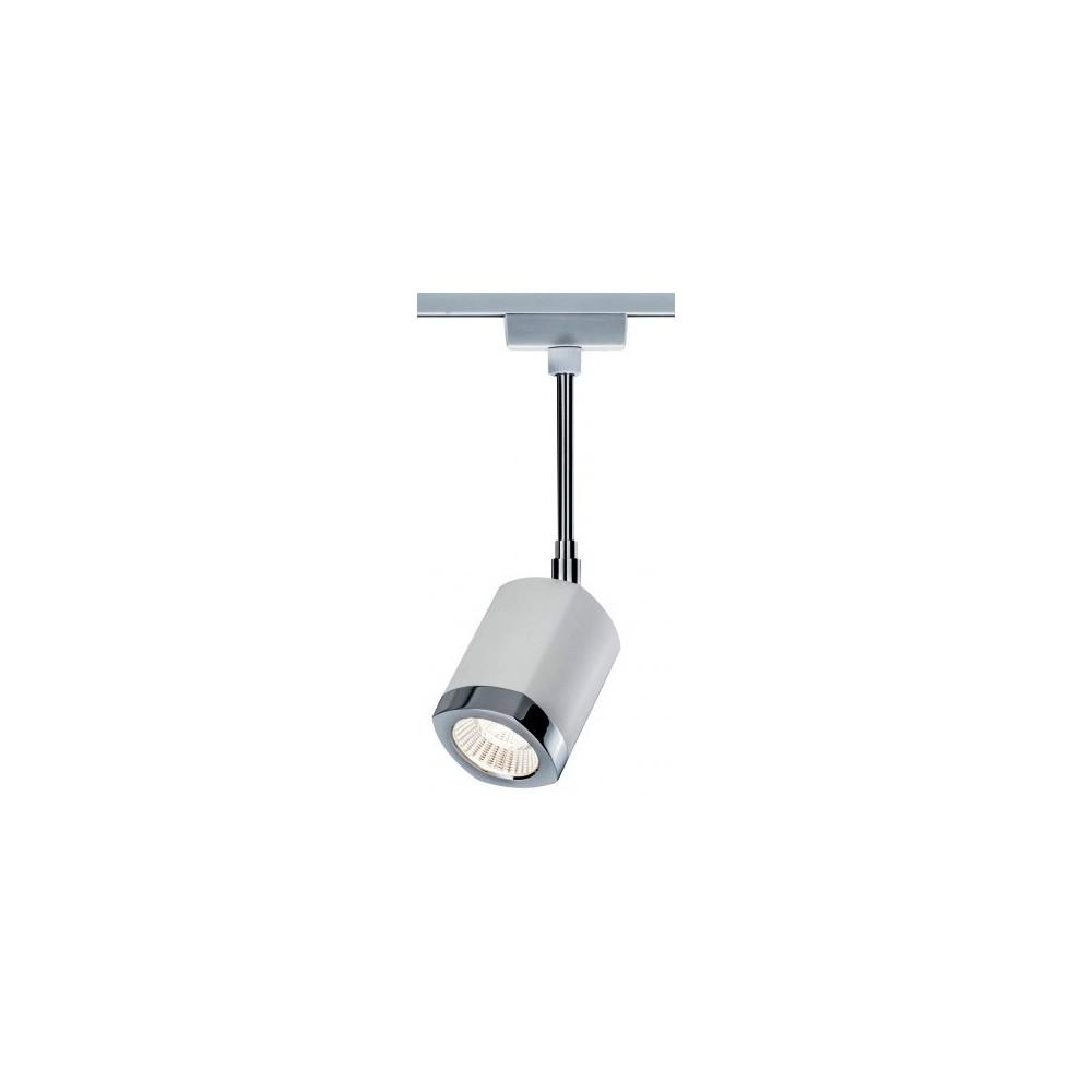 Трековый светильник WANKEL LED белый/хром