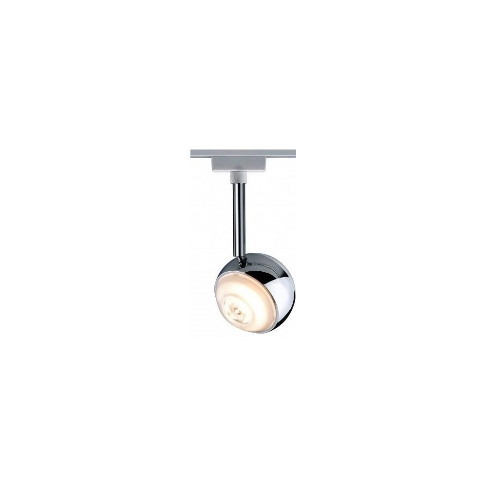 Трековый светильник CAPSULE LED белый/хром