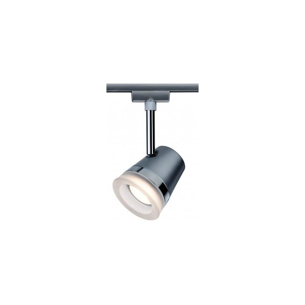Трековый светильник Cone LED хром матовый