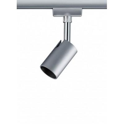 Трековый светильник PURE I хром матовый