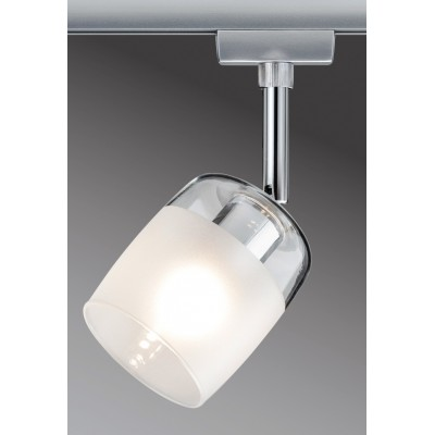 Трековый светильник BLOSSOM хром матовый