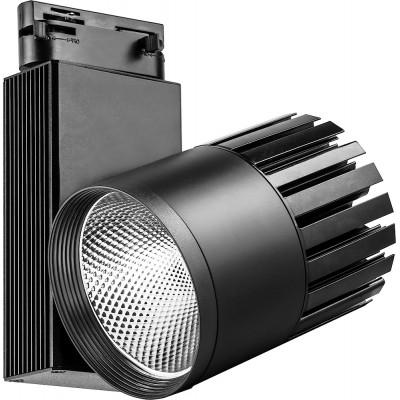 Трековый светодиодный светильник 40Вт 4000К черный