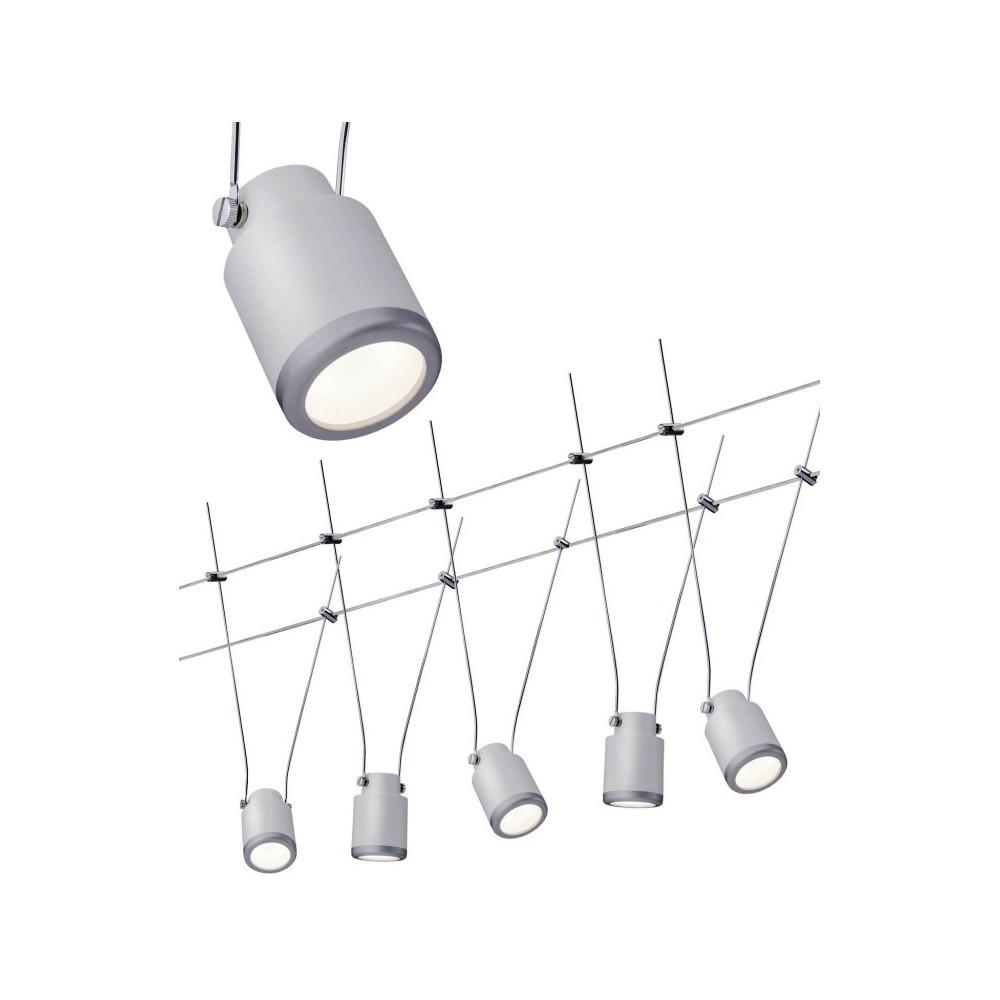 Струнные светодиодные светильники TIP WS TIN 5x4w