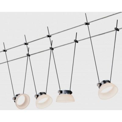 Струнные светодиодные светильники GLASSLED I 4x4w