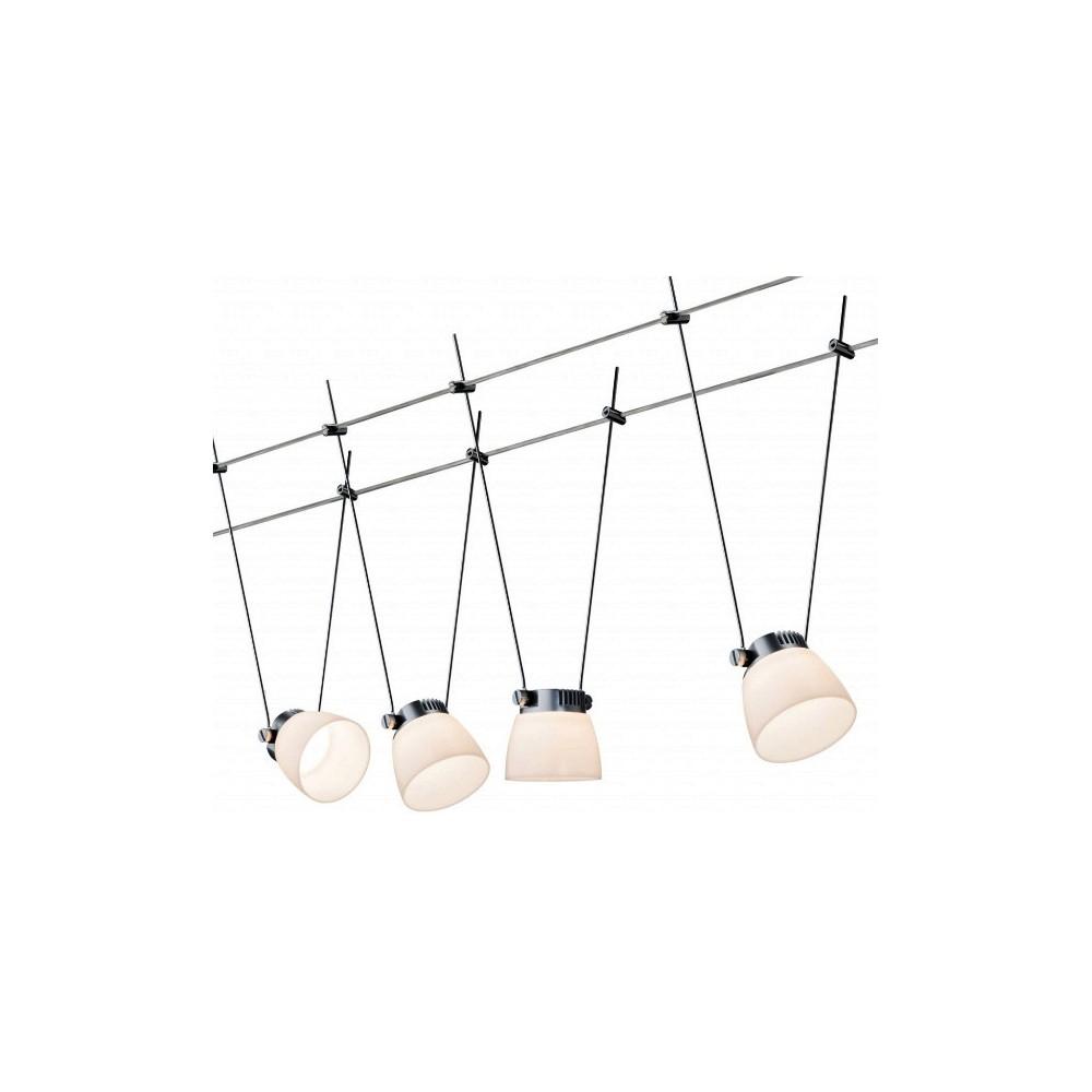 Струнные светодиодные светильники GLASSLED II 4x4w