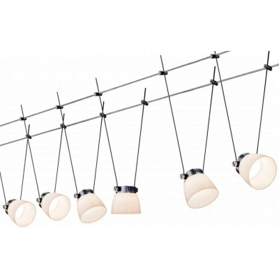 Струнные светодиодные светильники GLASSLED II 6x4w