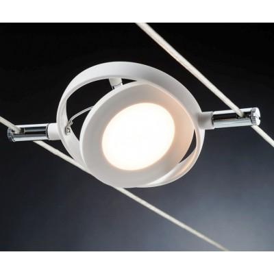 Струнные светодиодные светильники LED ROUNDMAC 6x4w